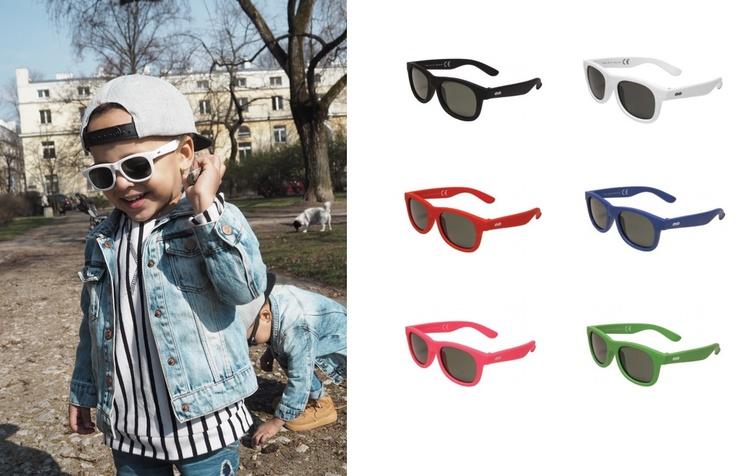 TOOTINY Okulary przeciwsłoneczne CLASSIC S green 7807277812